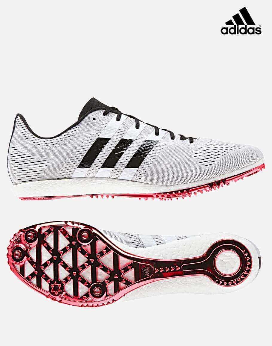 sports shoes 7ac00 27527 Adidas Adizero Avanti-White Black Red