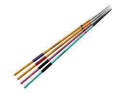 Package of training javelins