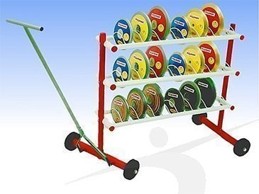 Mobile Discus cart - Offert product