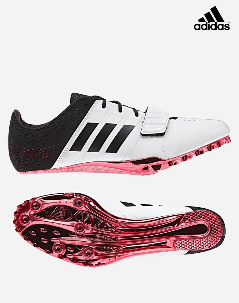 0c64193ce433f Adidas Adizero Accelerator-White Red Black
