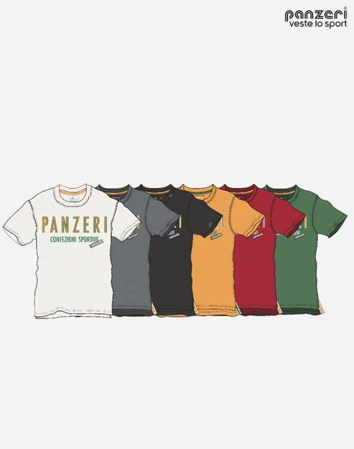 kortärmad tröja panzeri