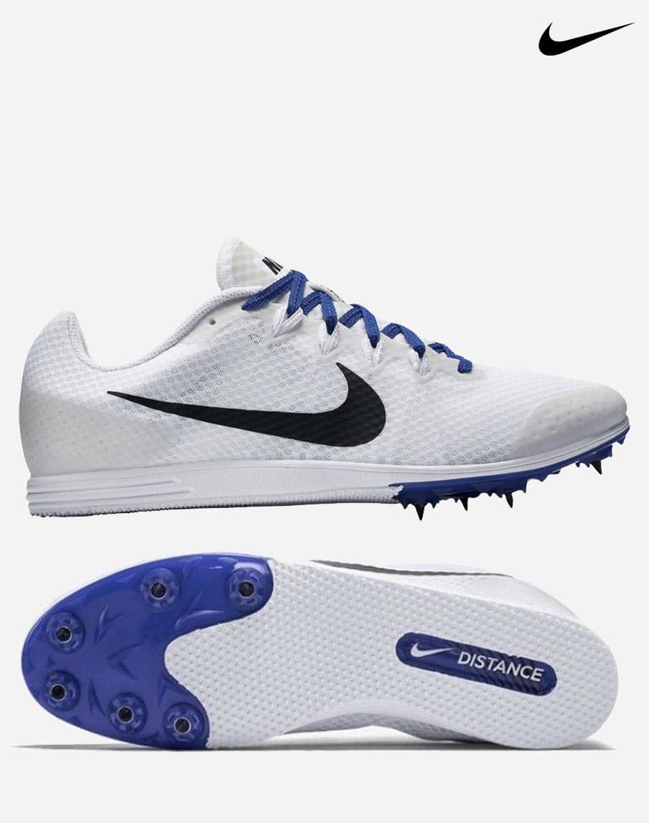 huge selection of 3a436 8bf5b Nike Rival D9 – White Blue