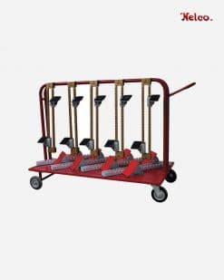 Nelco Starting block trolley