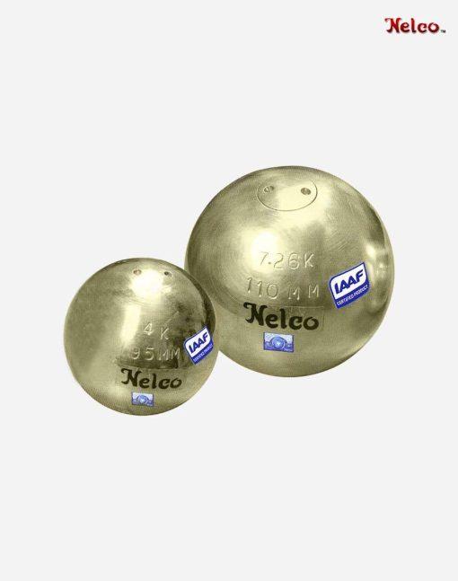 Nelco mässings kula för tävling