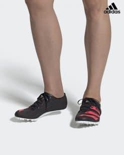 Adidas adizero Finesse Svart/Korall 13
