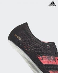 Adidas adizero Finesse Svart/Korall 15