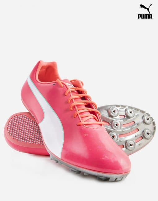 Puma evoSpeed Sprint 10 - Pink/Silver 3