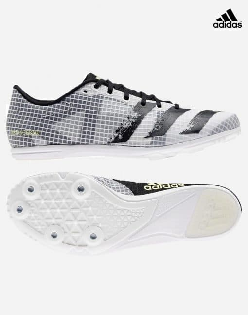 Adidas Distancestar - vit-svart 3