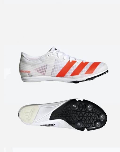Adidas Distancestar - Vit/Röd 3